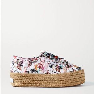 Mary Katrantzou + Superga espadrilles sneakers